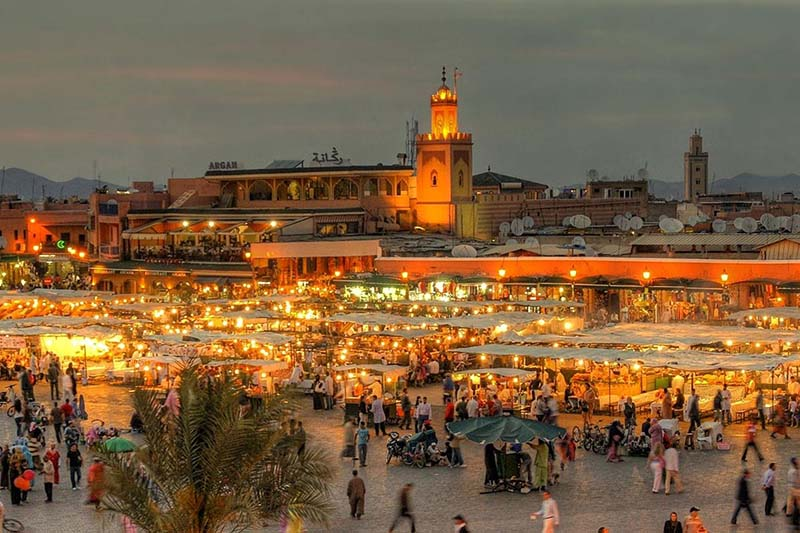 The Red City Tour in Marrakech