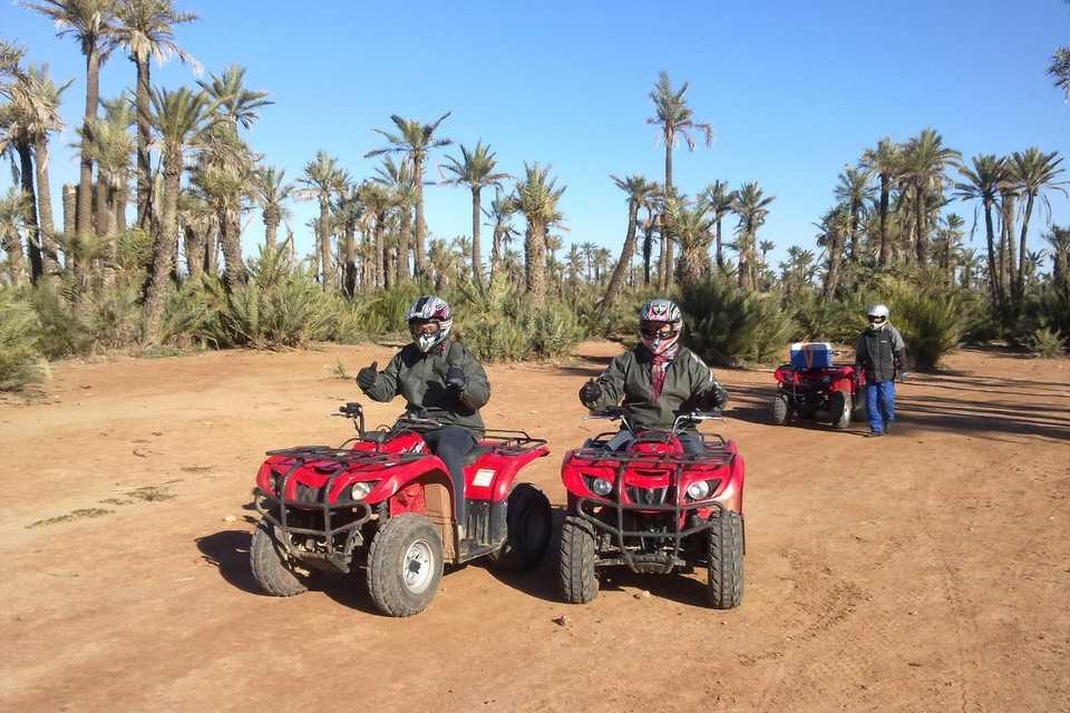 Half-Day Quad Biking Tour In Palmerie From Marrakech