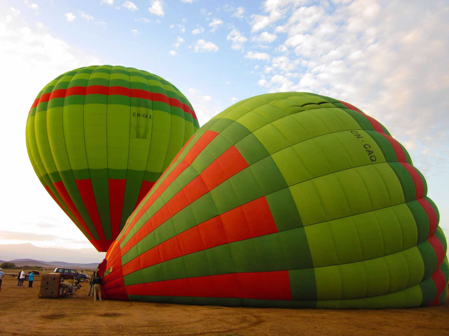 Hot Air Ballooning in Marrakech