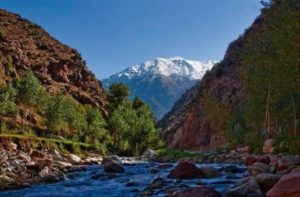 Berber village, A visit to Ourika valley
